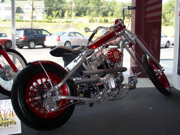 Military Auction Bike By Paul Sr Orange County Choppers